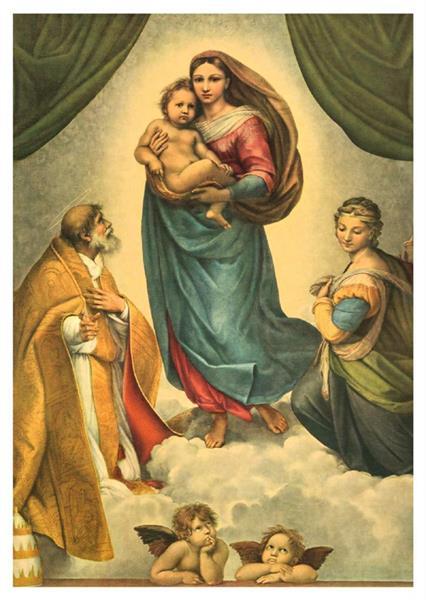 Sixtinische Madonna Dresden